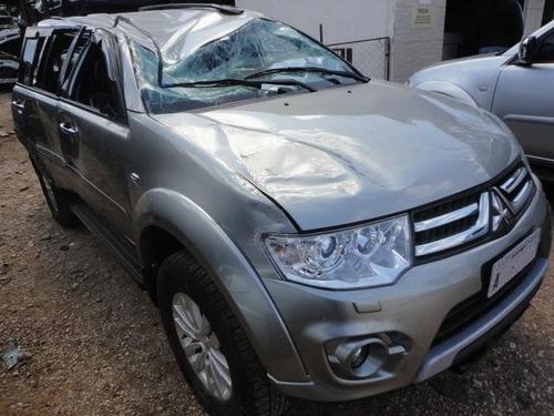 sucata mitsubishi dakar hpe diesel 2014 retirada de peças