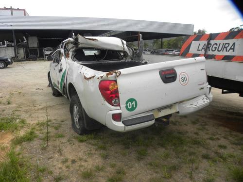 sucata mitsubishi l200 3.2 triton glx cab. dupla 4x4 4p