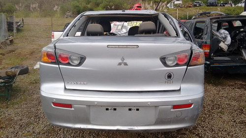 sucata mitsubishi lancer 2.0 2012 gasolina - rs peças