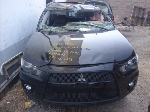 sucata mitsubishi outlander 2012 2.0 peças motor