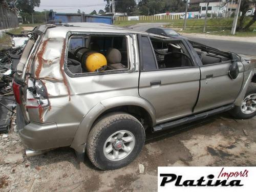 sucata mitsubishi pajero sport 2000 3.0 retirada de peças
