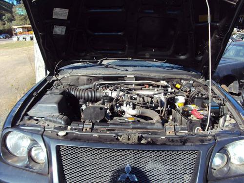 sucata mitsubishi pajero sport hpe v6 4x4 3.5 2009 p/ peças
