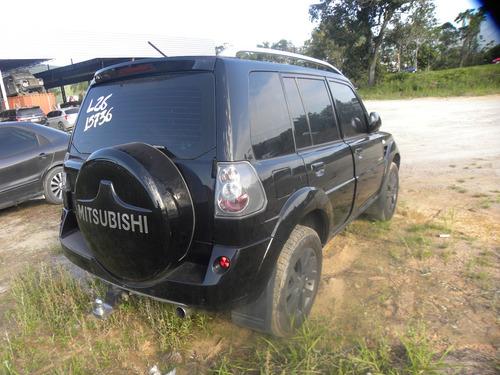 sucata mitsubishi pajero tr4 2.0 flex 4x4 aut. 5p 2014
