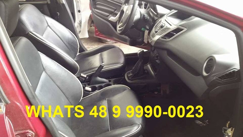 sucata new fiesta mexicano 1.6 16v manual 2011 completo