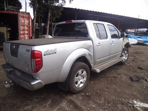 sucata nissan frontier 2.5 4x4  diesel 2012/2013