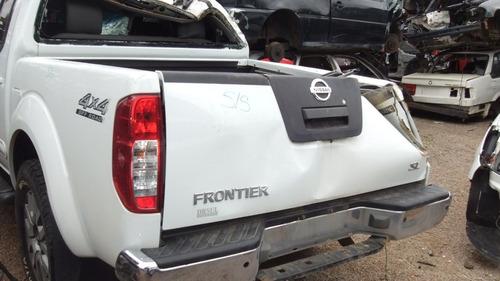 sucata nissan frontier 4x4 2.5 2014 motor cambio acabamentos