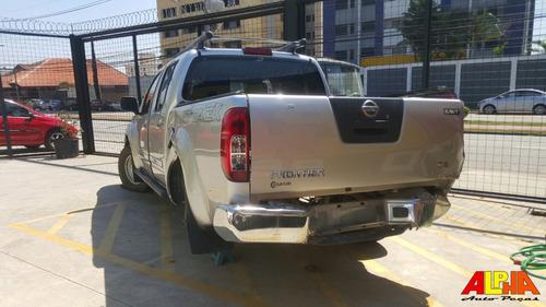 sucata nissan frontier se attack 2.5 turbo 4x4 2013 diesel