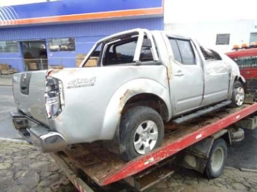 sucata nissan frontier sel 2.5 diesel 4x4 2009 pecas lataria