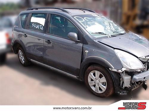 sucata nissan livina 2011 x-gear sl para retirada de peças