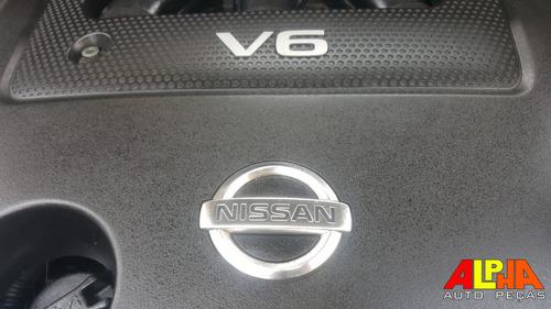 sucata nissan murano 3.5 v6 24v 231hp gasolina 2008 2009