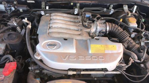 sucata nissan pathfinder 3.5 v6 se 2004 automatica