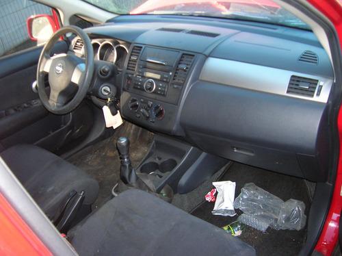 sucata nissan tiida 2008 manual gasolina - rs peças