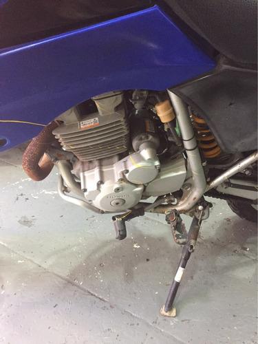 sucata nxr250 tornado motor e retirada de peças alemão motos