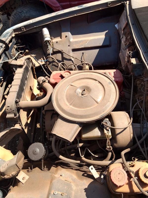sucata opala 4 cil 86/87  dh  peças motor câmbio desmanche
