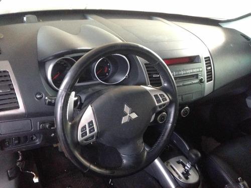 sucata outlander 3.0 v6 gasolina 2009 automático