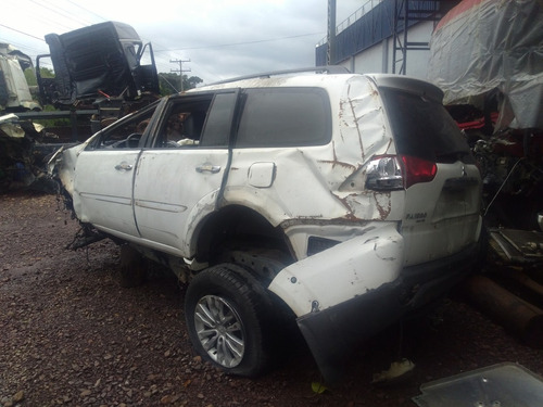 sucata pajero dakar 2016 diesel para venda de peças