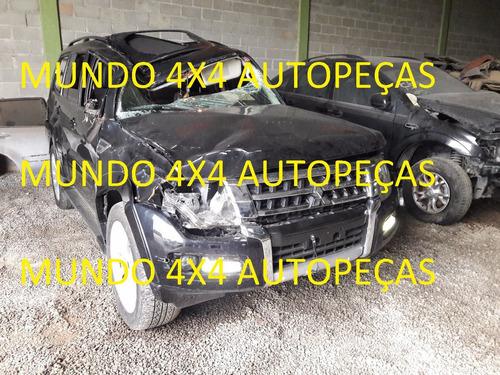 sucata pajero full 200cv 3.2 2016 com motor e cambio e peças