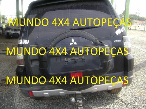 sucata pajero full v6 3.8 g.  2008 com motor e cambio e peça