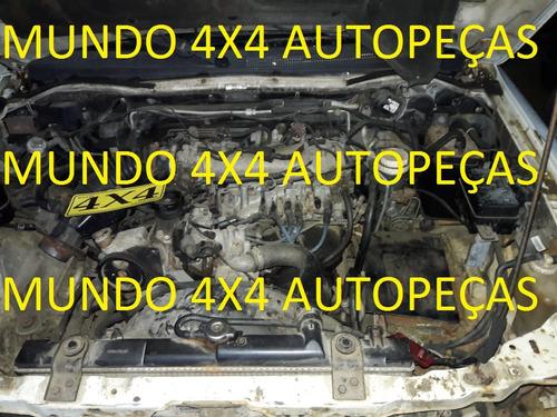 sucata  pajero sport 3.0 1999 4x2 com motor e cambio e peças
