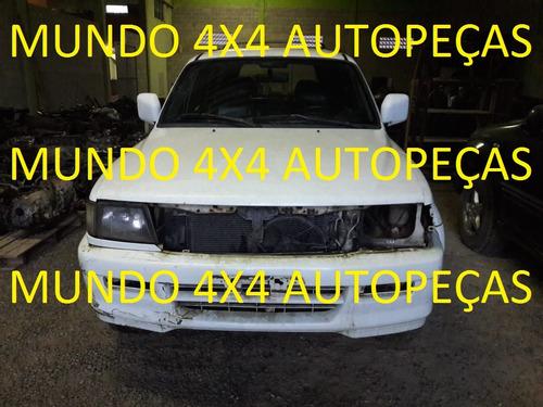 sucata  pajero sport 3.0 4x2 1999 com motor e cambio e peças