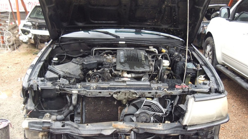sucata pajero sport 3.0 aut v6 peças motor cambio lataria
