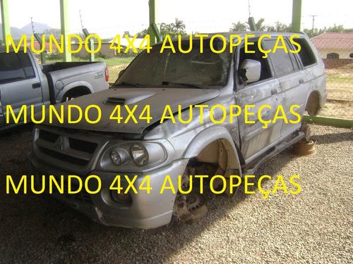 sucata  pajero sport d 2.8 2006 com motor e cambio e peças