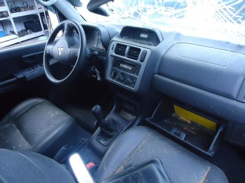 sucata pajero tr4 2009 4x4 peças motor caixa