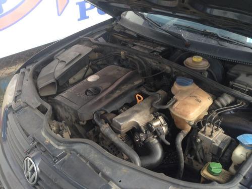 sucata para ret. de peças  vw passat 99 2.0 turbo manual 20v