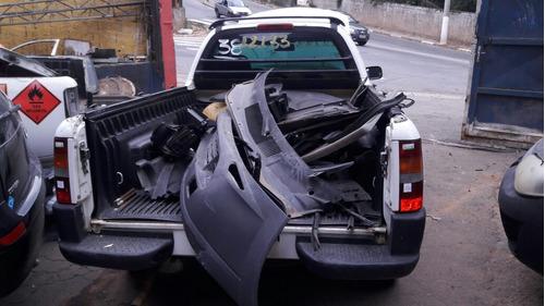 sucata para retirada de peças ford courier 02 1.6 8v gasolin