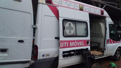 sucata para retirada de pecas ford transit 2011 diesel 2.4