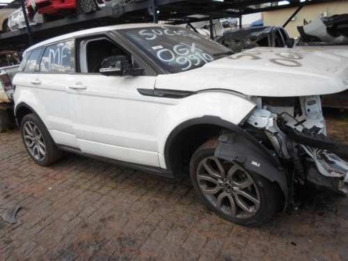 sucata para retirada de peças land rover evoque dynamic 2013