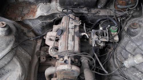 sucata para retirada de peças para chevette 90 1.6 8v motor