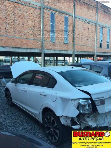 sucata para retirada peças honda new civic lxr 2.0 flex 2015