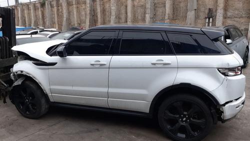 sucata para venda de peças range rover evoque 2015