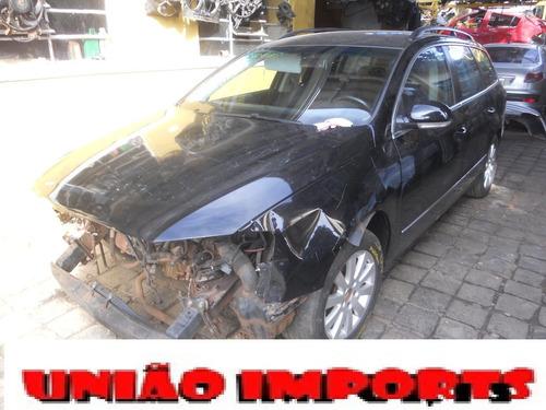 sucata passat variant 2.0 2006 motor, cambio, air bag, rodas