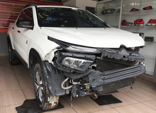 sucata peça fiat toro ad 2.0 16v 4x4 diesel multijet 2016