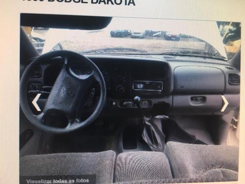 sucata peças acessórios dodge dakota 1999 115cv