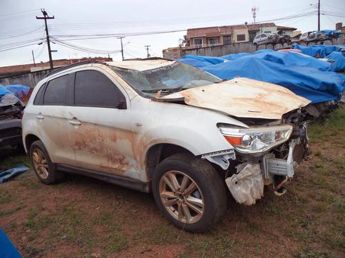 sucata peças asx 2.0 4x2 gasolina automatica 2013