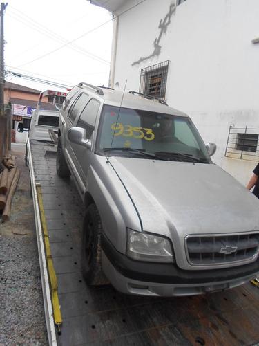 sucata peças blazer 2002 2.8 diesel 4x4