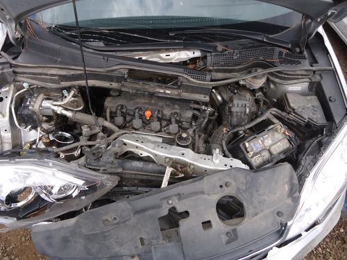 sucata peças cr-v 2.0 aut. 2010 cambio/motor/bomba/porta/tbi