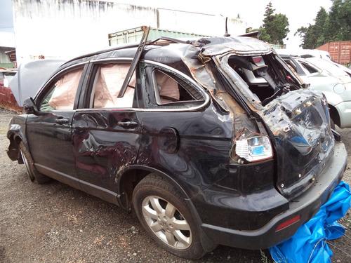 sucata peças crv exl 2.0 gasolina  2008