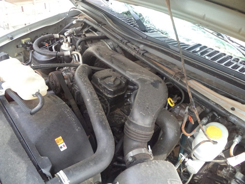 sucata  peças f250 4cc cumins 4x4 diesel 2011