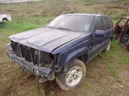 sucata peças grand cherokee 5.2 gasolina 1997