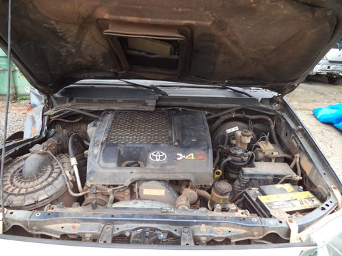sucata peças hilux srv 3.0 4x4 turbo diesel 2009