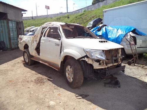sucata peças hilux srv 3.0 diesel 2014 p/retirada de peças