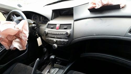 sucata pecas honda accord lx 2008 motor cambio caixa porta