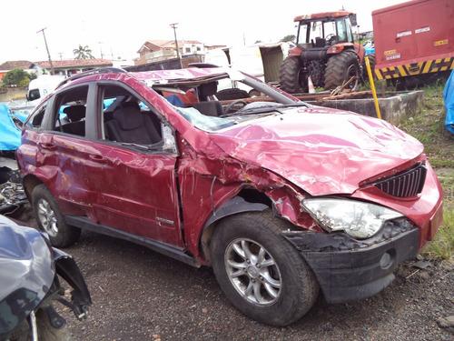 sucata peças i/ssangyong actyon 4x4 diesel 2010