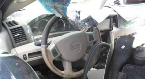 sucata peças jeep grand cherockee limited 09 6cc