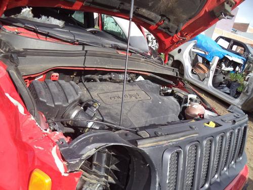 sucata peças jeep renegade 2.0  diesel 2015/2016