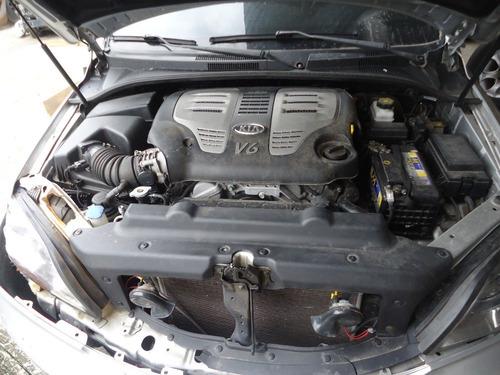sucata peças kia sorento 2008 6cc gasolina